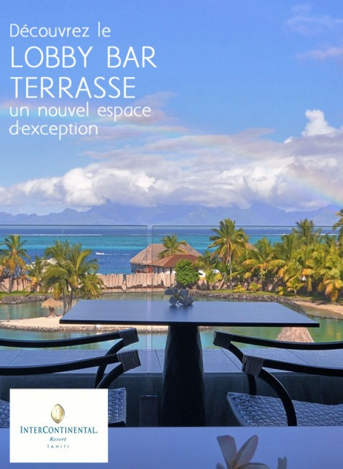 DISCOVER THE LOBBY BAR - Intercontinental Tahiti - march 2015